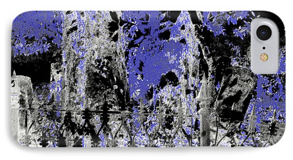 Abstract Cemetery IPhone Case