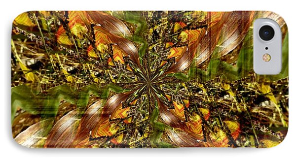 Abstract Cornfield 1 IPhone Case