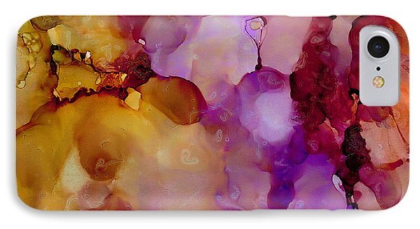 Abstract Floral #22 IPhone Case