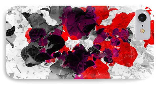 Abstract Floral No.3 IPhone Case