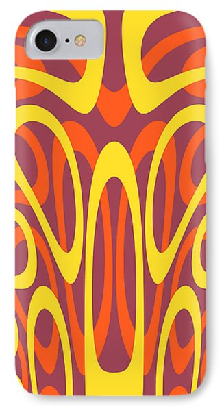 Abstract Geometric Shapes IPhone Case