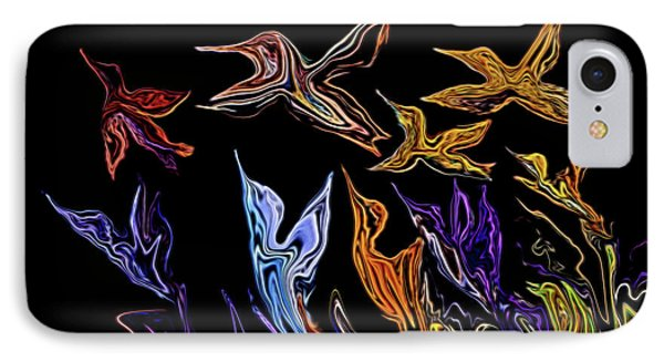 Abstract Hummers IPhone Case