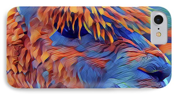 Abstract Llama IPhone Case
