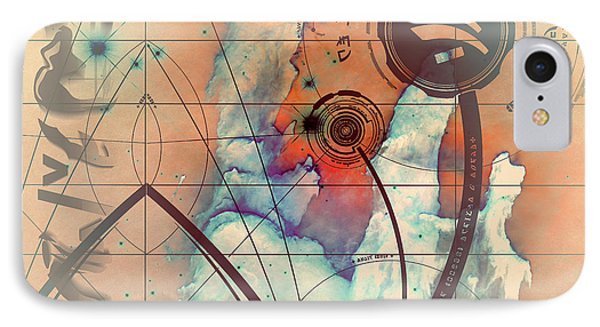 Abstract No 28 IPhone Case