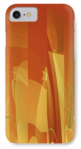 Abstract No 34 IPhone Case