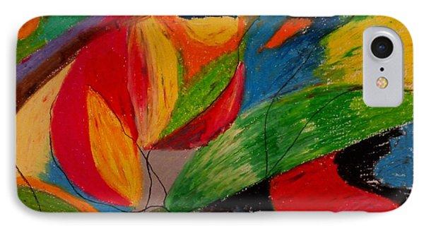 Abstract No. 5 Springtime IPhone Case