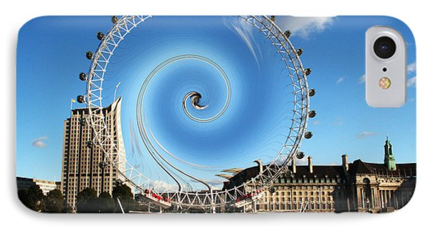 Abstract Of The Millennium Wheel IPhone Case