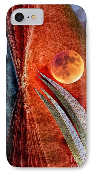Abstract On Moon IPhone Case