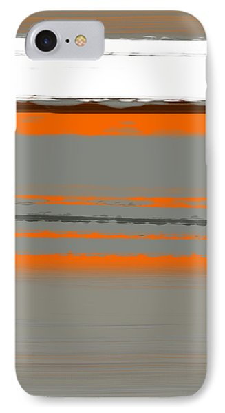 Abstract Orange 2 IPhone Case