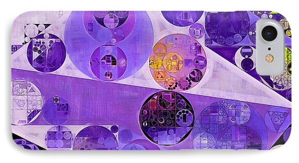 Abstract Painting - Blackcurrant IPhone Case