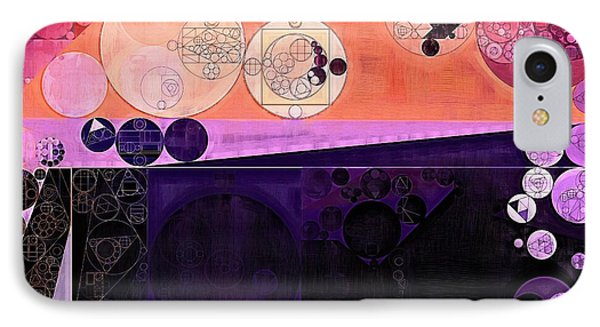 Abstract Painting - Fuzzy Wuzzy IPhone Case