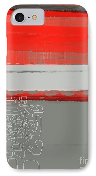 Abstract Red 1 IPhone Case