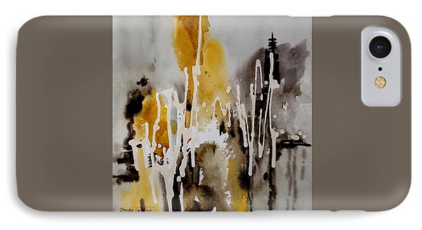 Abstract Scene IPhone Case