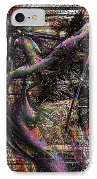 Abstract Sketch 1334 IPhone Case