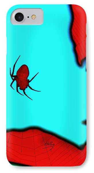 Abstract Spider IPhone Case