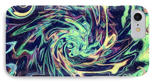 Abstract - Swirls And Eddies IPhone Case