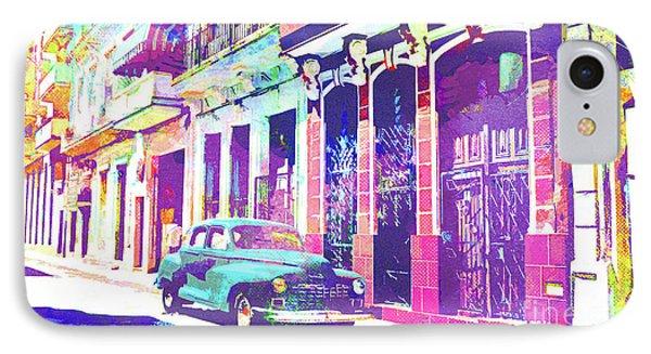 Abstract Watercolor - Havana Cuba Classic Car I IPhone Case