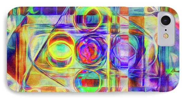 Abstract - Wheels Within Wheels IPhone Case