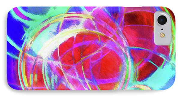 Abstract - Where Worlds Collide IPhone Case