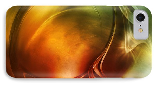 Abstract Whiskey IPhone Case