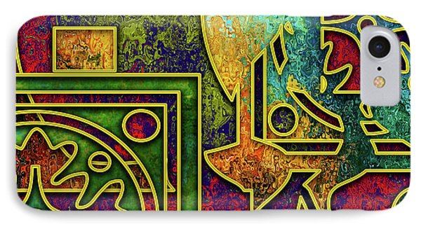 IPhone Case featuring the digital art Abstraction 3 by Chuck Staley