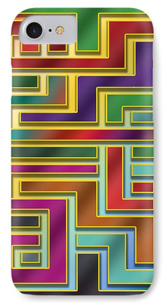 IPhone Case featuring the digital art Abstraction 4 by Chuck Staley