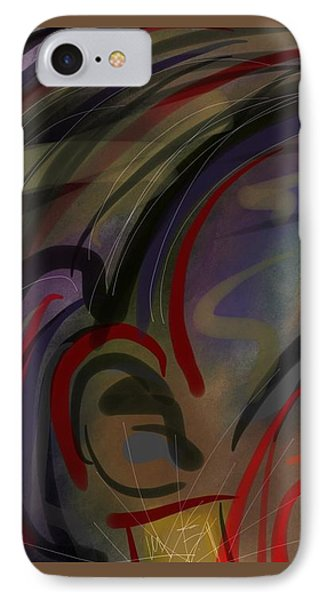 Fro Abstraction 2 IPhone Case