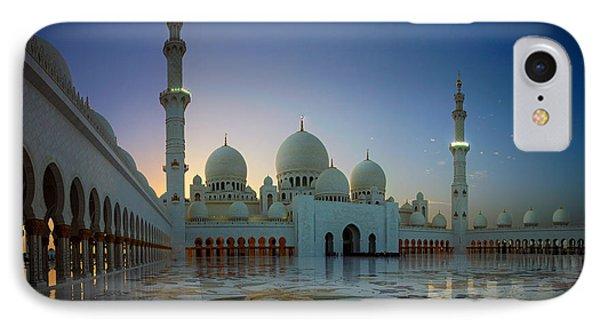 Abu Dhabi Grand Mosque IPhone Case