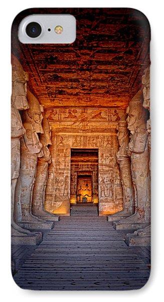 Abu Simbel Great Temple IPhone Case