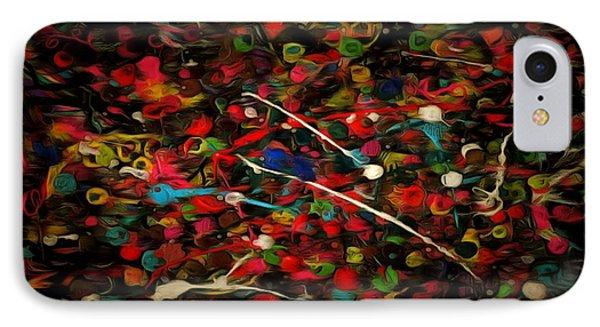 Acrylic Paint IPhone Case