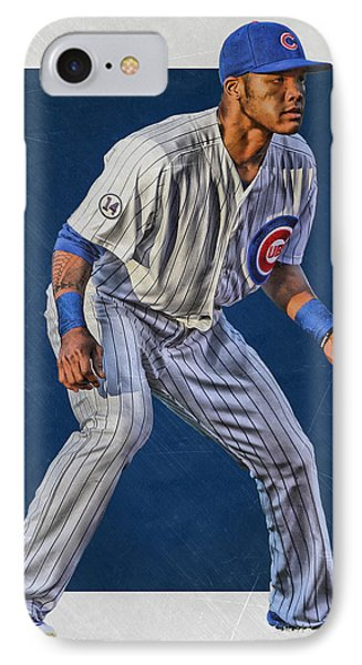 Addison Russell Chicago Cubs Art 2 IPhone Case