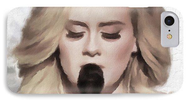 Adele Portrait Hello IPhone Case