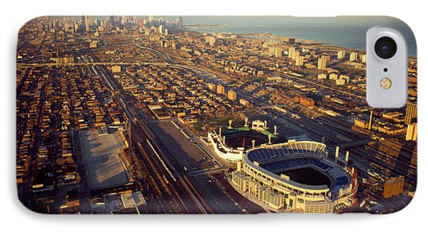 Aerial View Of A City, Old Comiskey IPhone Case
