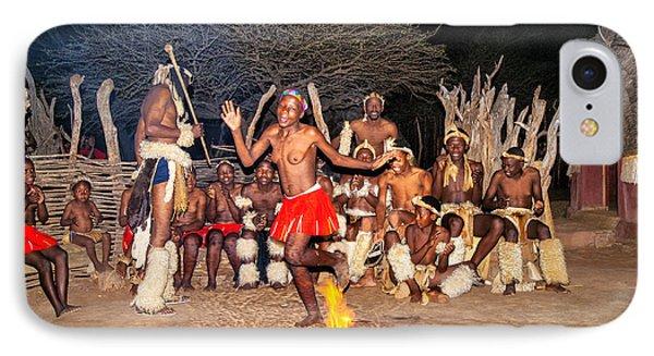 African Fire Dance IPhone Case