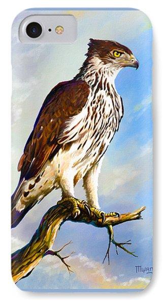 African Hawk Eagle IPhone Case