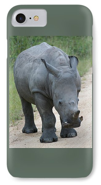African Rhino IPhone Case