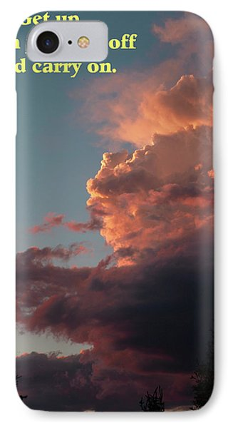 After The Storm Carry On IPhone Case