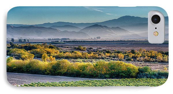 Afternoon Light In The Salinas Valley IPhone Case