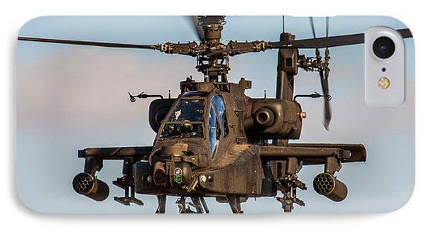 Ah64 Apache Flying IPhone Case