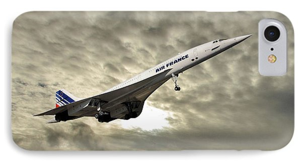French iPhone 8 Case - Air France Concorde 115 by Smart Aviation