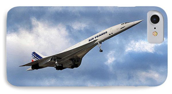 French iPhone 8 Case - Air France Concorde 118 by Smart Aviation