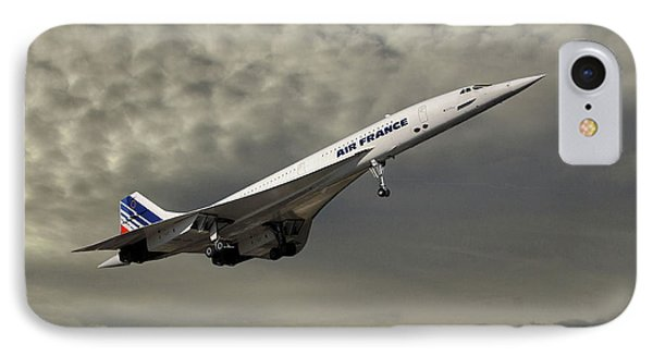 French iPhone 8 Case - Air France Concorde 116 by Smart Aviation