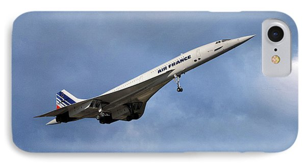 French iPhone 8 Case - Air France Concorde 117 by Smart Aviation