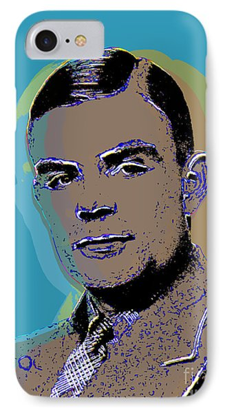 Alan Turing Pop Art IPhone Case