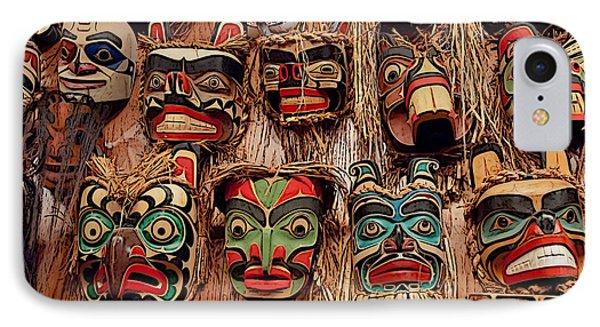 Alaskan Masks IPhone Case