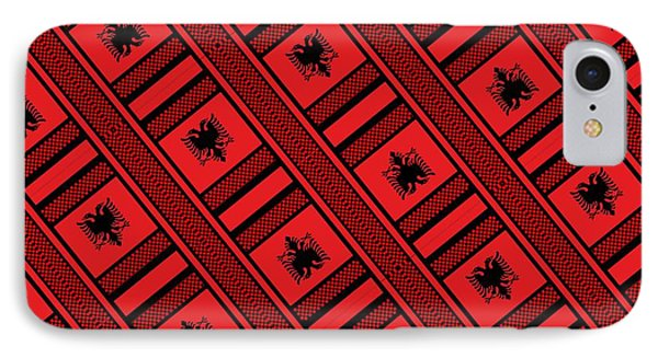 Albania IPhone Case