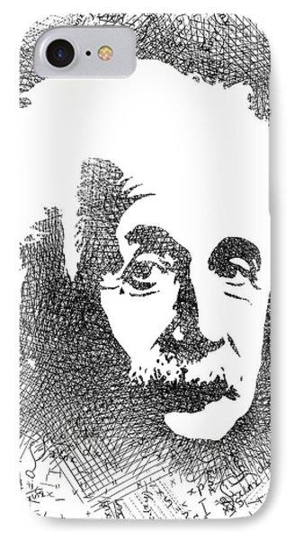 Albert Einstein Bw  IPhone Case