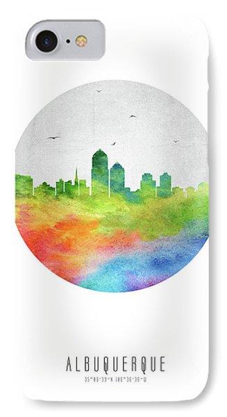 Albuquerque Skyline Usnmal20 IPhone Case
