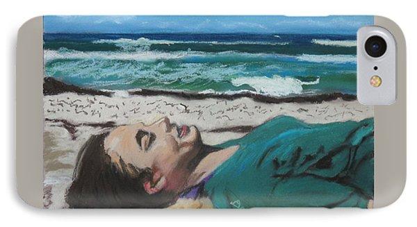 Granddaughter Alex At A Gulf Coast Beach, Florida IPhone Case