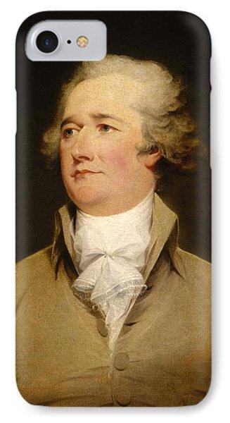 Alexander Hamilton Painting IPhone Case